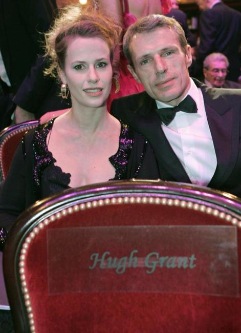 Florence Darel and Lambert Wilson at the 31st Nuit des Cesar France's top movie awards.