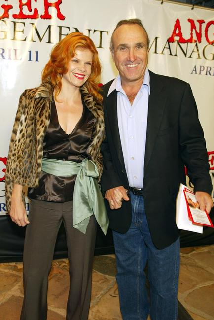 Lolita Davidovich and husband director Ron Sheldon at the premiere of
