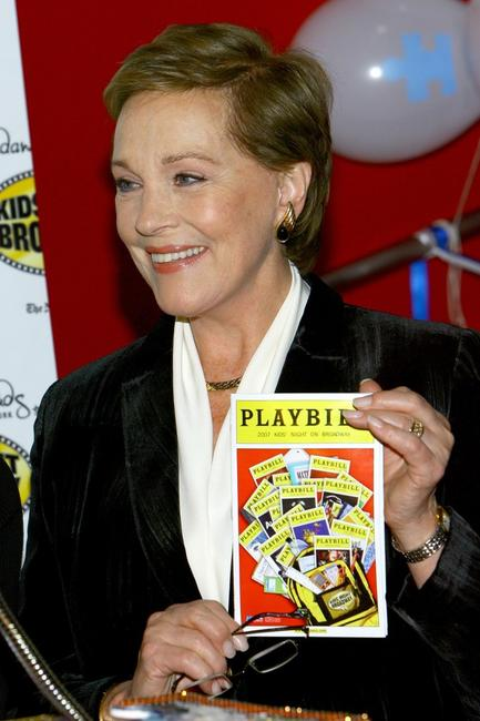 Julie Andrews at the kick off for Kids' Night at Madame Tussauds.