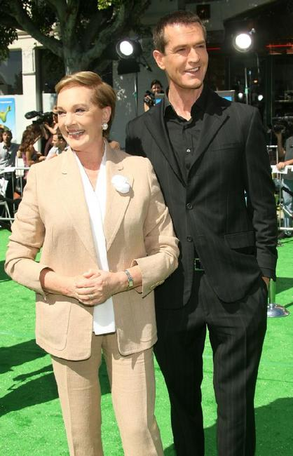 Julie Andrews and Rupert Everett at the premiere of