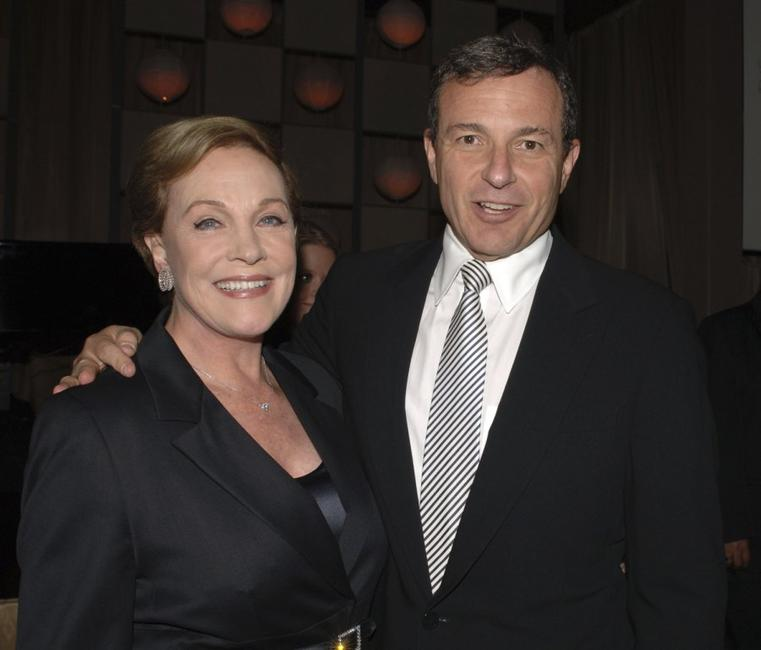 Julie Andrews and Robert A. Iger at the The Millennium Ball 2006.