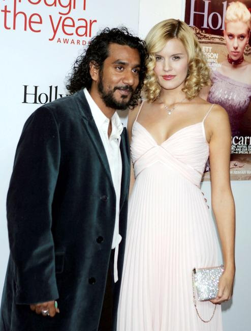 Naveen Andrews and Maggie Grace at the Hollywood Life Magazine's Breakthrough of the Year Awards.