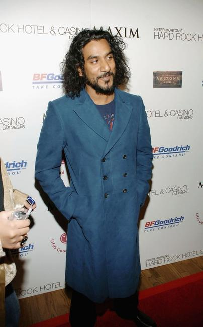 Naveen Andrews at the MAXIM magazine Billboard awards party.