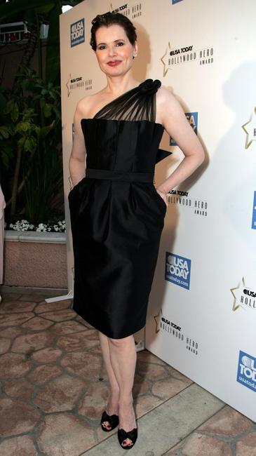 Geena Davis at the USA Today Hollywood Hero.