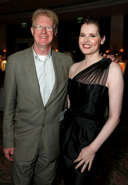 Geena Davis and Ed Begley Jr. at the USA Today Hollywood Hero.
