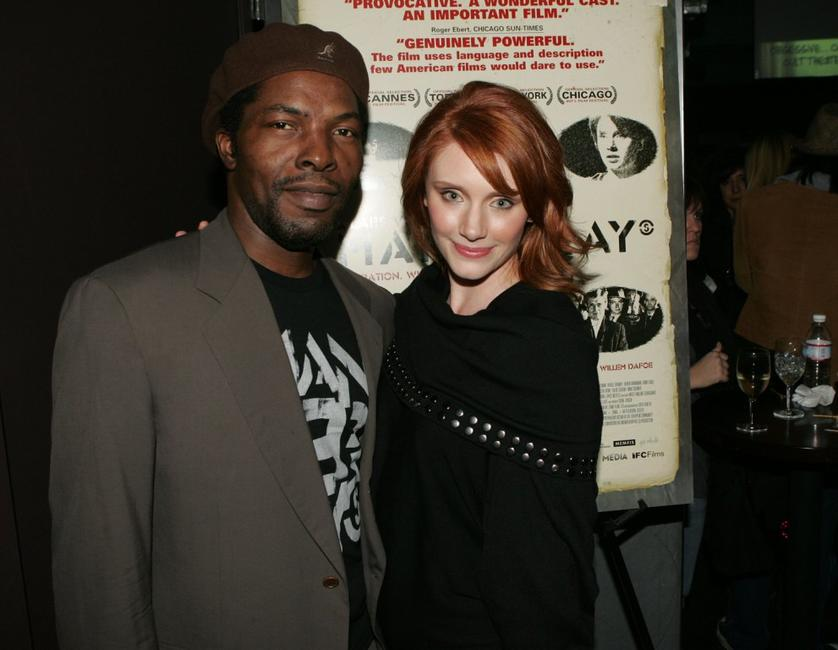 Isaach De Bankole and Bryce Dallas Howard at the IFC Films screening of