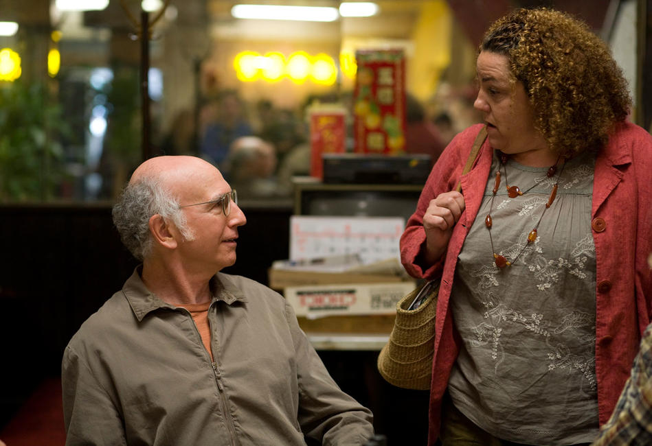 Larry David as Boris and Marcia Debonis as Lady in