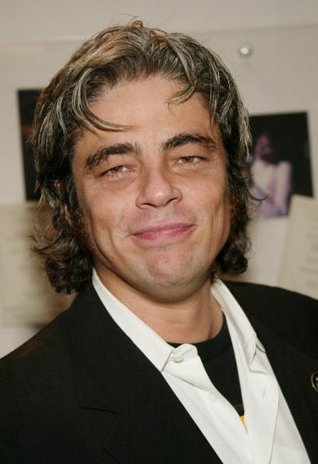 "Benicio Del Toro at the New York Film Festival closing night premiere of ""21 Grams"" in New York."