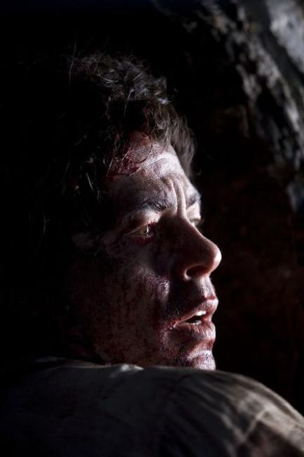 Benicio Del Toro as Lawrence Talbot in