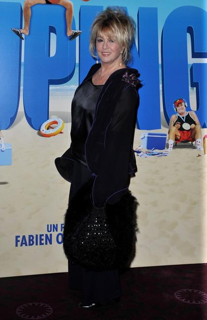 Mylene Demongeot at the premiere of