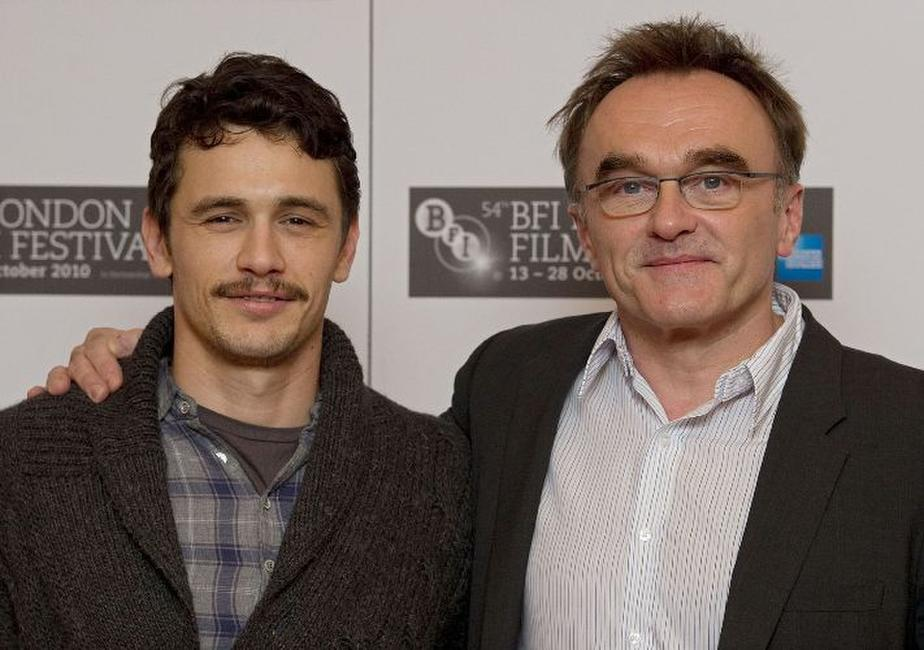 James Franco and Danny Boyle at the photocall of