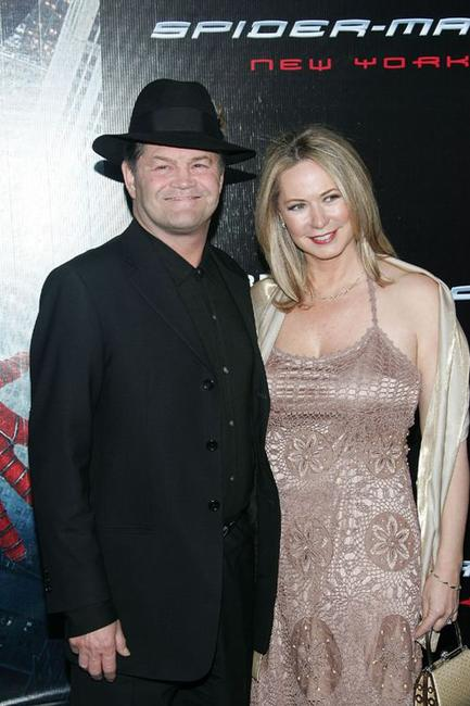 Micky Dolenz and Donna Dolenz at the premiere of