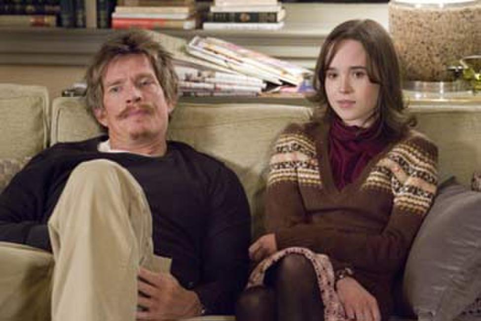 Thomas Haden Church and Ellen Page in