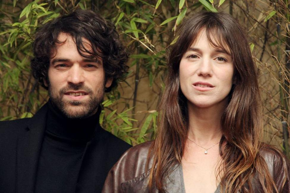 Romain Duris and Charlotte Gainsbourg at the premiere of