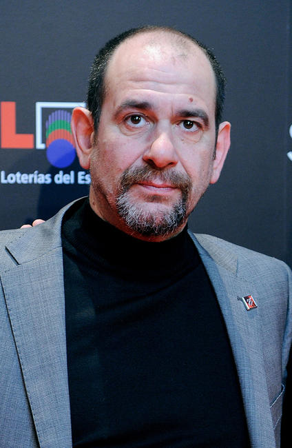 Karra Elejalde at the Goya Awards 2011 Gala in Madrid.