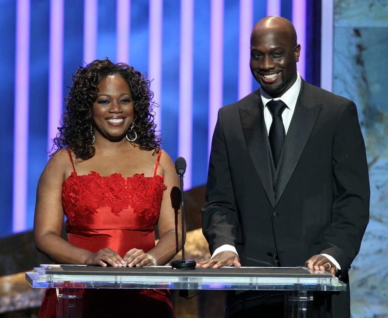 Regina Taylor and Richard T. Jones at the 39th NAACP Image Awards.