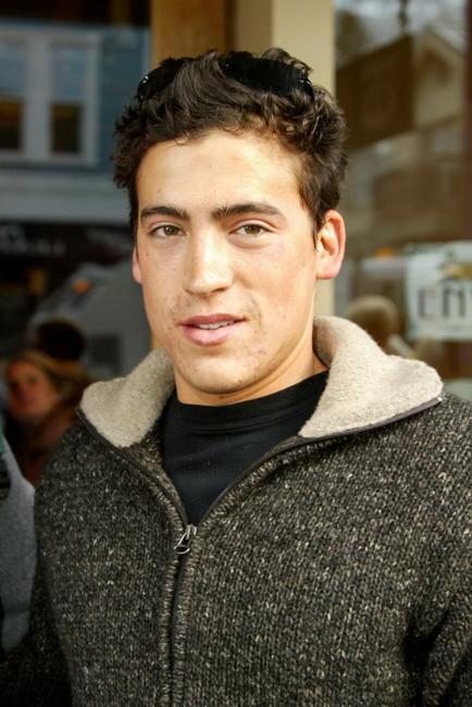 Andrew Keegan at the Sundance Film Festival.