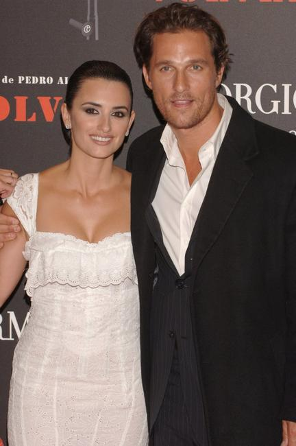 Matthew McConaughey and Penelope Cruz at the premiere for