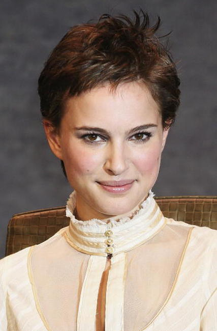 "Natalie Portman at a photcall of ""V For Vendetta"" in Tokyo, Japan."