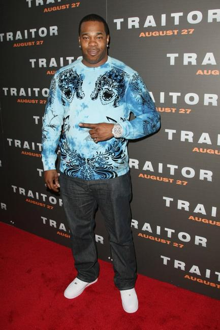 Busta Rhymes at the premiere of