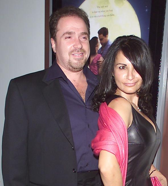 Michael Rispoli and Kathrine Narducci at the premiere of