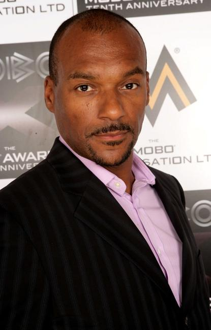 Colin Salmon at the MOBO Awards 2005 the tenth anniversary of the annual music event.