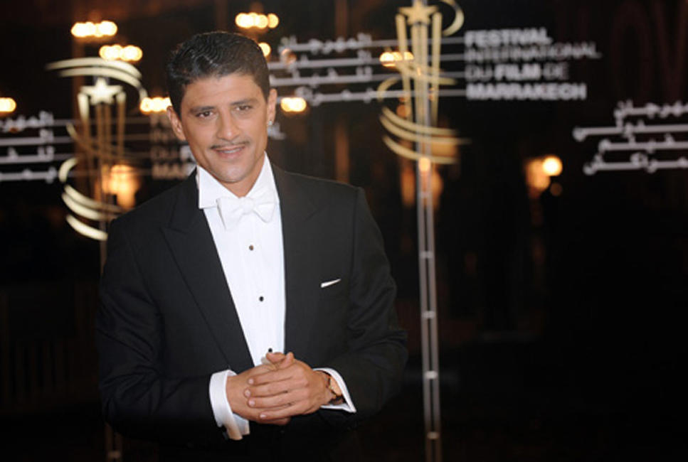 Said Taghmaoui at the opening of the 9th edition of the Marrakech International Film Festival.