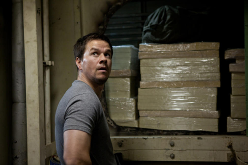Mark Wahlberg as Chris Farraday in ``Contraband.''