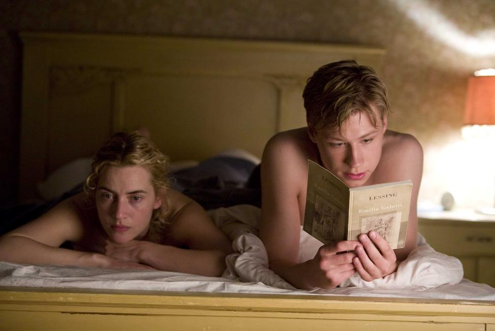 Kate Winslet and David Kross in
