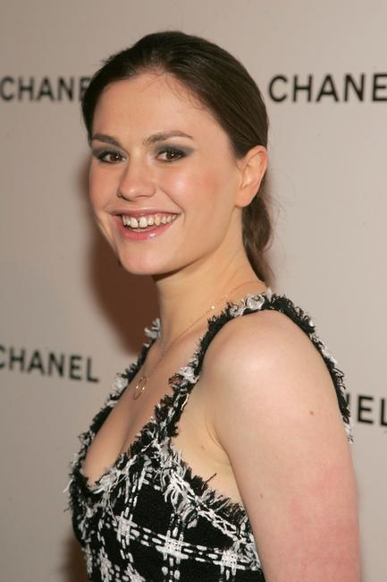 Anna Paquin at the 2007 Tribeca Film Festival Chanel Dinner.