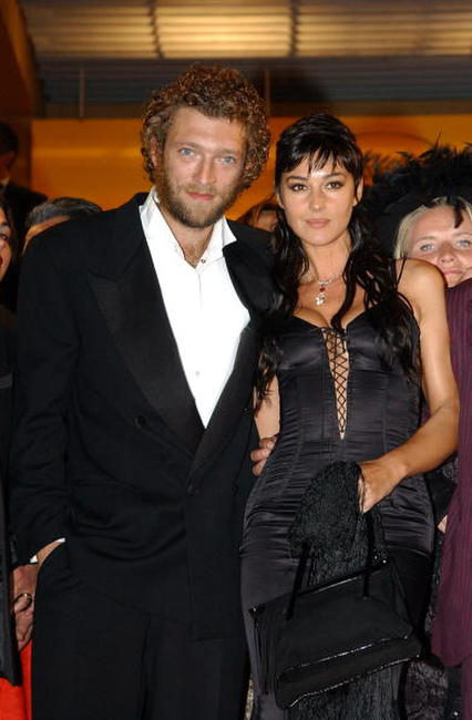 Monica Bellucci and Vincent Cassel at the 55th Cannes Film Festival.