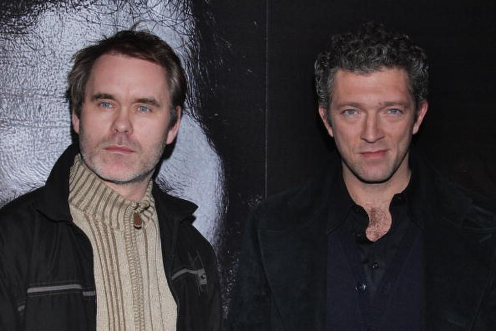 Director Jean Francois Richet and Vincent Cassel at the VIP Room theater for the