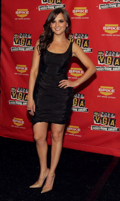 Rachael Leigh Cook at the Spike TV Video Game Awards in Los Angeles.