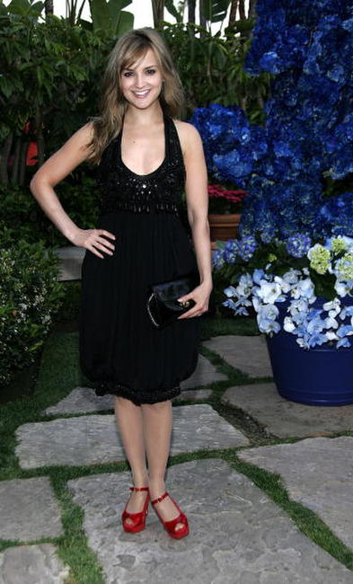 Rachael Leigh Cook at the YSL pool party in Beverly Hills, California.