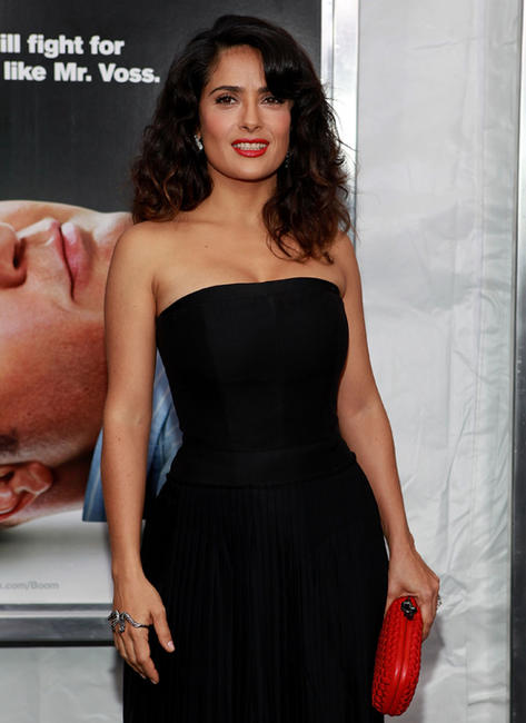 Salma Hayek at the New York premiere of
