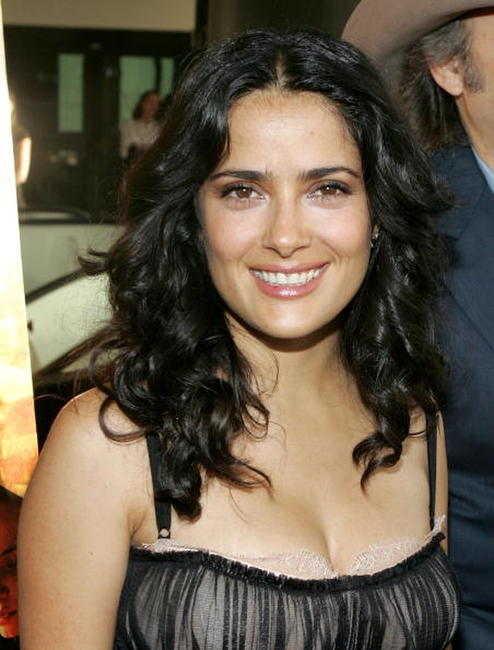 Salma Hayek at the premiere of
