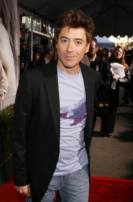 Robert Downey, Jr. at the L.A. premiere of