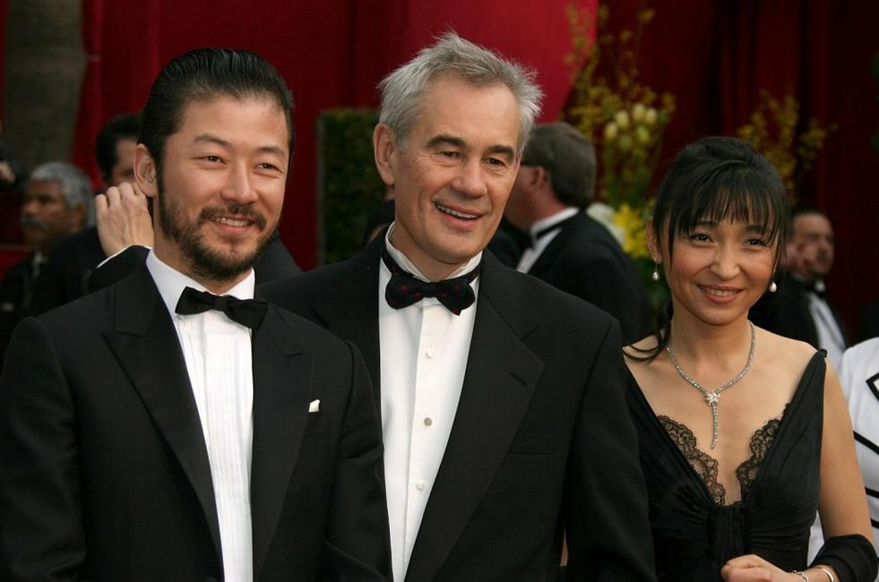 Tadanobu Asano, Sergei Bodrov and Guest at the 80th Annual Academy Awards.