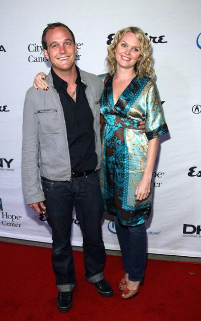 Ethan Embry and wife Sunny Mabrey at the Songs of Hope IV.