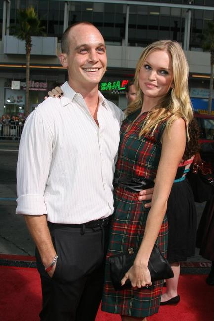 Ethan Embry and Sunny Mabrey at the premiere of