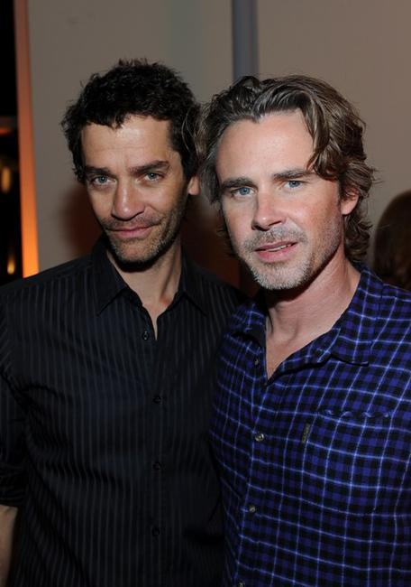 James Frain and Sam Trammell at the