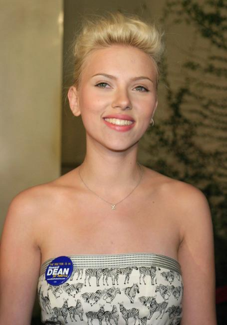 Scarlett Johansson at the Hollywood premiere