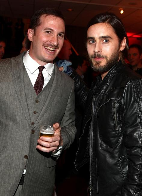 Director Darren Aronofsky and Jared Leto at the after party of the premiere of