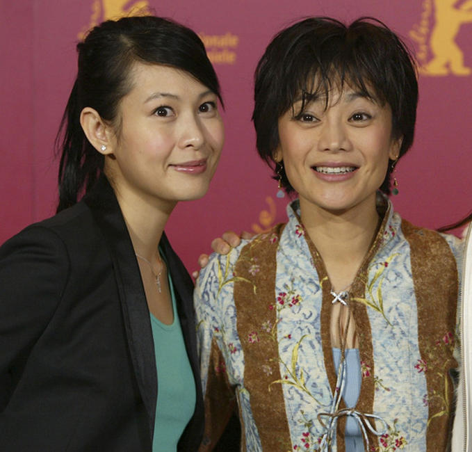 Rene Liu and Sylvia Chang at the photocall of