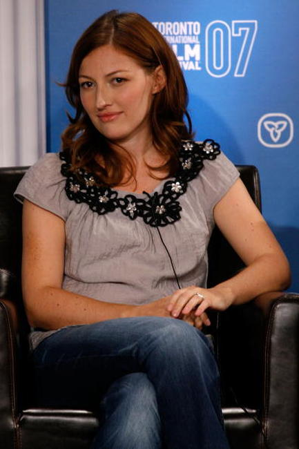 Kelly MacDonald at the TIFF 2007 Press Conference.