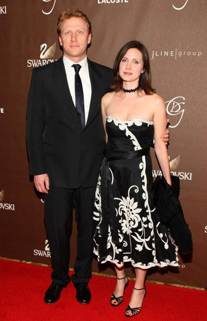 Kevin McKidd and his wife Jane McKidd at the 10th Annual Costume Designers Guild Awards.