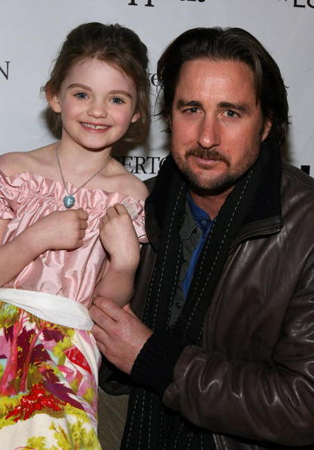 Luke Wilson and Morgan Lily at the 2008 Sundance Film Festival.