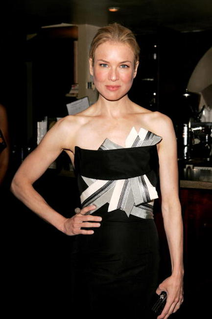 "Renee Zellweger at the pre-show reception party ahead of the premiere of ""Cinderella Man"" in London, England."