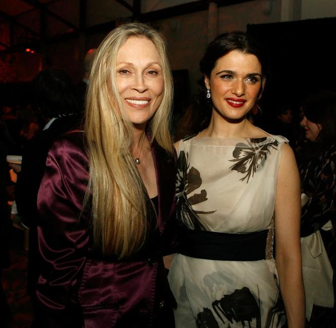 Faye Dunaway and Rachel Weisz at the AFI FEST 2006 for US Premiere and Centerpiece Gala after party of