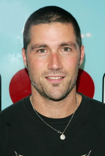 Matthew Fox at MTV's Total Request Live.
